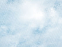 Rain storm backgrounds in cloudy weather Royalty Free Stock Photos