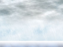 Rain storm backgrounds in cloudy weather Royalty Free Stock Image