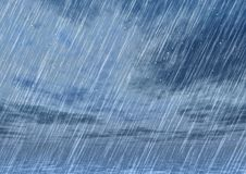 Rain storm backgrounds in cloudy weather. Hailstorm backgrounds in a cloudy weather Stock Photos