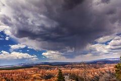 Rain Storm Hoodoos Bryce Canyon National Park Utah Royalty Free Stock Photo