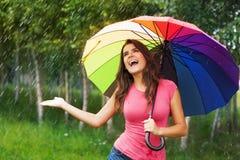 Rain in the summertime Stock Photo