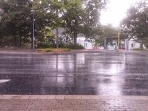 Rain time Royalty Free Stock Photo