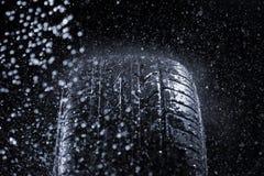 Rain Tire Royalty Free Stock Photo