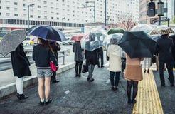 Rain in Tokyo Royalty Free Stock Image