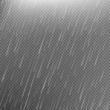 Rain transparent template background. EPS 10 Stock Images