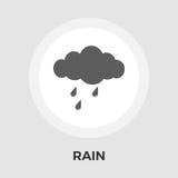 Rain vector flat icon Stock Photo