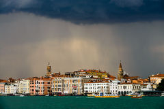 Rain in Venice Stock Photos
