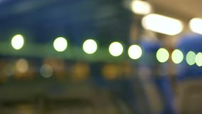 Night transport moving light. Rain water drops on bus window glass stock video