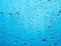 Rain water Drops. Rain water Drops on time lapse Royalty Free Stock Photos