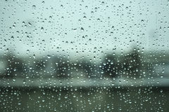 Rain water drops Stock Image