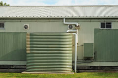 Rain water tank Royalty Free Stock Images