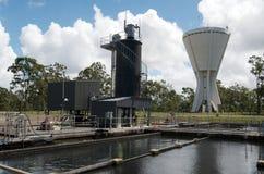 Rain Water Treatment Plant Stock Photo