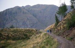 Rain weather in mountain Royalty Free Stock Photos