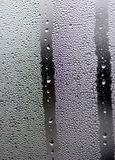 Rain on a window Royalty Free Stock Images