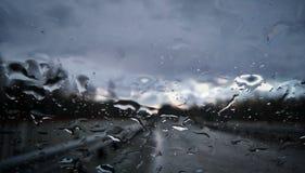 Rainy royalty free stock photo