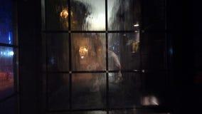 Rain window Stock Image