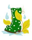 Rainboots Royaltyfri Bild