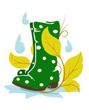 Rainboots Royalty Free Stock Image