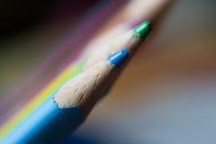 Rainbow& x27 μολύβι του s στοκ εικόνες με δικαίωμα ελεύθερης χρήσης