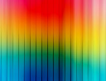 Rainbow. Vertical stripes with  many color. abstract illustration Stock Photos