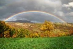 Rainbow. After a raining morning Stock Image
