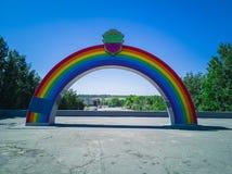 96-Rainbow Imagens de Stock