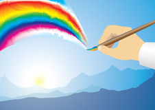Rainbow Royalty Free Stock Photography