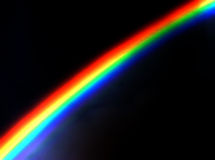 Dramatic Rainbow Intense Colors Royalty Free Stock Image