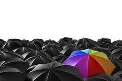 The rainbow vector illustration
