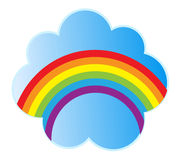 Rainbow vector illustration