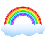 Rainbow. Stock Photo