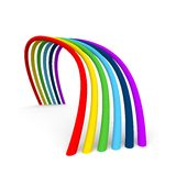 Rainbow 3D Stock Photo