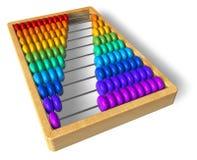 Rainbow abacus Stock Image