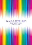Rainbow abstract. Background made from lines with place for text Royalty Free Stock Photos