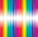 Rainbow abstract. Background made from lines with place for text stock illustration