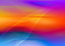 Rainbow abstract. Composition with flowing design vector illustration