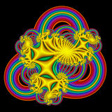 Rainbow Abstract Royalty Free Stock Photography