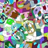 Rainbow abstract vector illustration