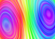 Rainbow abstract background Stock Images