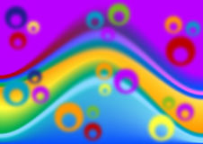 Rainbow abstract background Royalty Free Stock Image