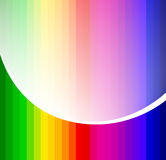 Rainbow abstract background composition Royalty Free Stock Photos