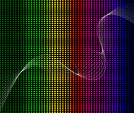 Rainbow abstract background composition Stock Photos