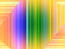 Rainbow abstract background with many lines Stock Photos