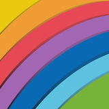 Rainbow Abstract Background. Vector royalty free illustration
