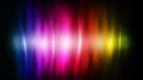 Rainbow abstract color flows Stock Images