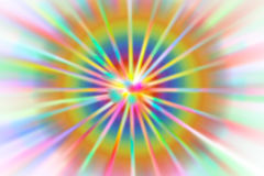 Rainbow Abstract colored background radius blur Royalty Free Stock Photography