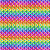 Rainbow Abstract Geometric Background Royalty Free Stock Images