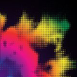 Abstract glowing background. A rainbow abstract glowing background Stock Photos