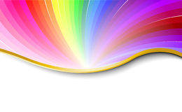 Rainbow abstract pattern Stock Images
