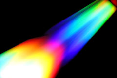 Rainbow abstract rocket launch Royalty Free Stock Images